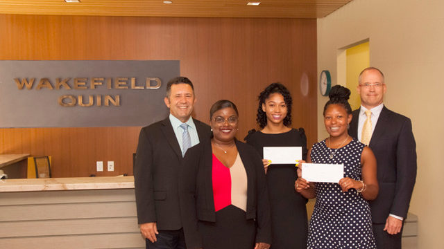 Wakefield Quin Announces Legal Scholarship Awards